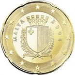 20 cents (other side, country Malta) 0.2